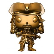PoP 21 Funko POP Disney Pirates of the Caribbean Captain Jack Sparrow Gold Pop! Vinyl Figure