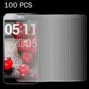 LG 100 stuks voor LG Optimus G Pro 2 0 26 mm 9H oppervlaktehardheid 2.5D explosieveilige gehard glas scherm Film