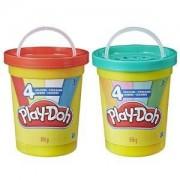 Детска играчка, Play Doh - Супер кенче, 4 цвята, асортимент, 0330694
