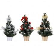 Bellatio Decorations Gouden kerstboom met decoratie 40 cm