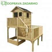 Drevený záhradný domček pre deti HUBERT