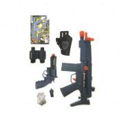 Merkloos Politie verkleed accessoires set incl. wapens