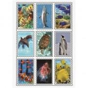 Geen Zeedieren stickers 3D