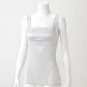 BRNYピース サテンバストアップシェイパーブラキャミ【QVC】40代・50代レディースファッション