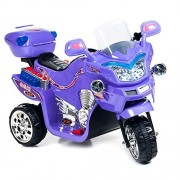 Purple Fx 3 Wheel Battery Powered Bike Includes Bonus Led Headlamp!!