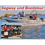 Segway u. Bootstour Gutschein (4 Personen)