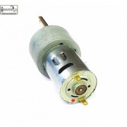 Invento 1pcs 12v 10 Kg-cm 10 RPM DC Side Shaft High Torque Geared Motor Heavy Duty