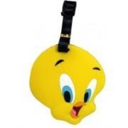 Funcart Tweety Luggage Tag(Yellow)