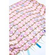 JFR Festival Sequin Top - Fox Light Pink