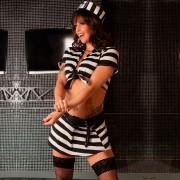 Fantasia Prisioneira Chic Aline