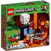 Конструктор Лего Майнкрафт - Портал към Ада, LEGO, Minecraft, 21143