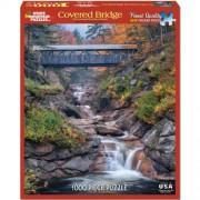 White Mountain Puzzles Covered Bridges - 1000 Piece Jigsaw Puzzle