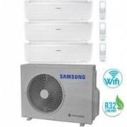 Samsung CLIMATIZZATORE CONDIZIONATORE SAMSUNG TRIAL 9+9+9 SERIE WINDFREE EVO DA 9000+9000+9000 BTU AJ052RCJ3EG R32 WI-FI 2019