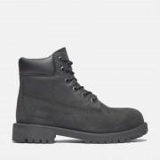 Timberland 6-inch Boot Premium Junior En Noir Noir Enfant, Taille 35.5