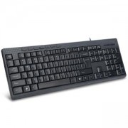 Клавиатура DELUX DLK-K6300U Multimedia keyboard, black color, USB port, DLK-6300U