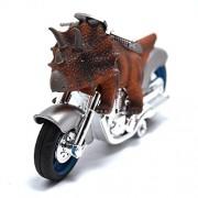 BigNoseDeer dinosaur motorcycle toys - animal friction motorcycles toys dinosaurs Triceratops