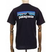 Patagonia S/S P-6 Logo Responsibili Tee - Piton Purple Colour: Piton P