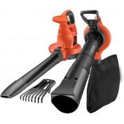 BLACK+DECKER GW3050-QS Bladblazer - mulchingfunctie en opvangzak - 50L