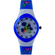 VITREND(R-TM) New Model Silicone Flower pattern Design Analog Watch For Kids(Random colours will be sent)