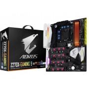 Gigabyte GA-Z270X-Gaming 9 Moederbord Socket Intel® 1151 Vormfactor ATX Moederbord chipset Intel® Z270