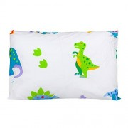 Wildkin Hypoallergenic Toddler Pillow Case, Features 100% Super Soft Cotton, Bold Patterns Coordinate with Other Bedding and Room Décor, Olive Kids Design Dinosaur Land