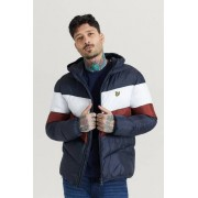 Scott Lyle & Scott Jacka Colour Block Puffa Jacket Multi