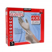 Kirkland Nitrile Gloves 400 Pack/Multi-Purpose/Latex-free/Kimberly-Clark - Small
