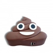 Baterie Externă Power Bank 2000mAh - Emoji Poop