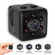 FUZHEN Mini cámara espía Oculta inalámbrica, cámara pequeña portátil Full HD 1080P con detección de Movimiento y visión Nocturna para el hogar y el Exterior