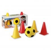 Set fotbal cu jaloane Androni Giocattoli