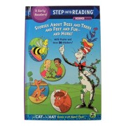 Dr. Seuss Step into Reading Hardcover Edition ~ Stories About Bees and Trees and Feet and Fur - and More! (5 Level Readers Comprised of Steps 2 and 3