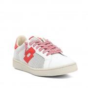 Lotto Sneaker bassa Autograph Front da uomo bianco e rosso