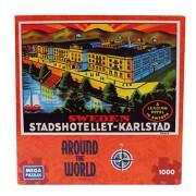 """Around The World Series 1000 Piece Jigsaw Puzzle """"Sweden"""""""