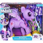 My Little Pony The Movie My Magical Princess Twilight Sparkle C0299 (cu sunete si lumini) 40 cm