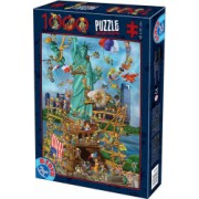 Puzzle 1000 piese 68x47 cm Cartoon Collection 61218
