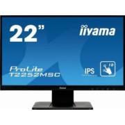 Monitor LED 22 Touchscreen Iiyama ProLite T2252MSC-B1 Full HD IPS 7ms