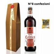 Birra Morena 8 Confezioni Regalo Celtica Scotch Ale cl 75 - Craft Beer