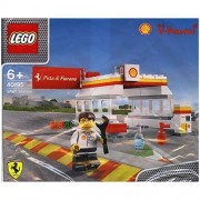 lego v power 40195 shell station bagged by LEGO [Parallel import goods]