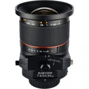 Samyang 24mm f/3.5 ED AS UMC Tilt-Shift Lens for Canon EF Mount - Black