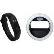M3 fitness band and Ring Flash Smart phones compatiable fitness band   Heart rate band  Health Watch   Calories Tracker Band   Step Count Band  fitness tracker   bluetooth smart band   Wrist Watch band   smart band   With Alarm System  Best in Quality