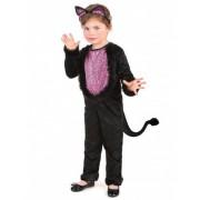 Disfarce de gato menina