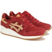 Asics TIGER GEL-LYTE III Sneakers For Men(Red, Beige)