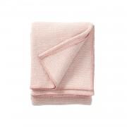 Klippan Yllefabrik Domino ullpläd rosa, klippan yllefabrik
