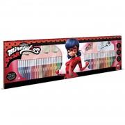 Multiprint kleurset Miraculous 86-delig rood