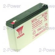 Yuasa VRLA UPS Batteri 6v 7000mAh (NP7-6)