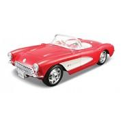 Welly - 1/24 Chevrolet Corvette 1957 (Red)