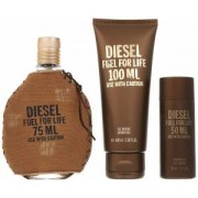 Diesel Fuel For Life Giftset 75ml+100ml+50ml