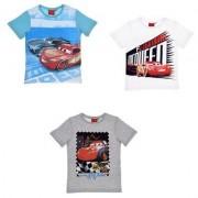 Disney Cars kortärmad T-shirt (Vit, 3 ÅR - 98 CM)