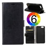 HTC Desire 12 Magnetic Wallet Кожен Калъф и Скрийн Протектор