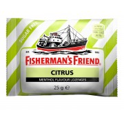 "Fisherman"" Fisherman´s Friend Citrus Sockerfri 25 g"